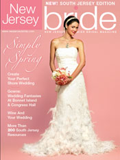Toppers With Glitz in New Jersey Bride Magazine